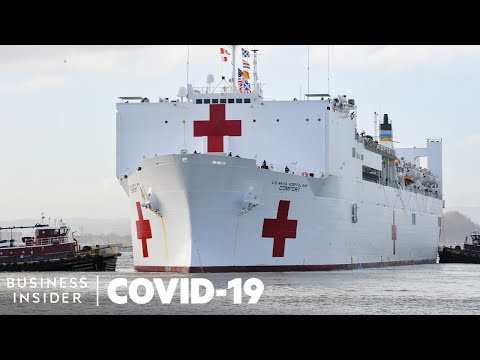 How The Navy's Largest Hospital Ship Can Help With The Coronavirus Crisis
