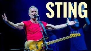 STING 💥 BEST SONGS, Concert in Milan, Italy