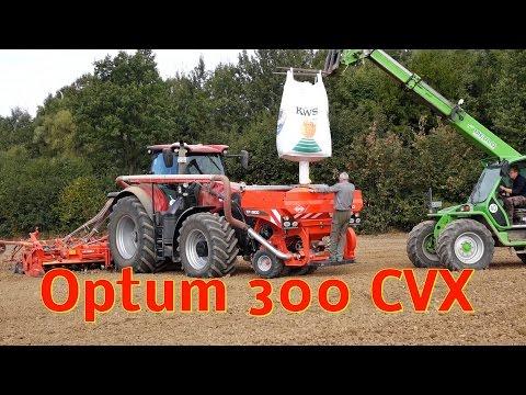 Case IH Optum 300 CVX mit Kuhn HR 6004