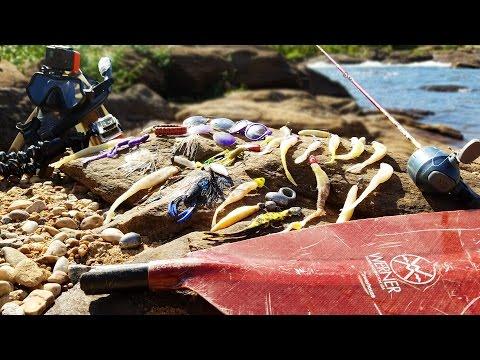 Searching for River Treasure! - 3 Sunglasses, Kayak Paddle, Fishing Tackle and MORE! (Scuba Diving)