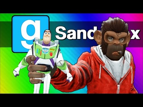 Gmod: Toy Story 4 - The Toys Escape! (Garry's Mod Sandbox Sk