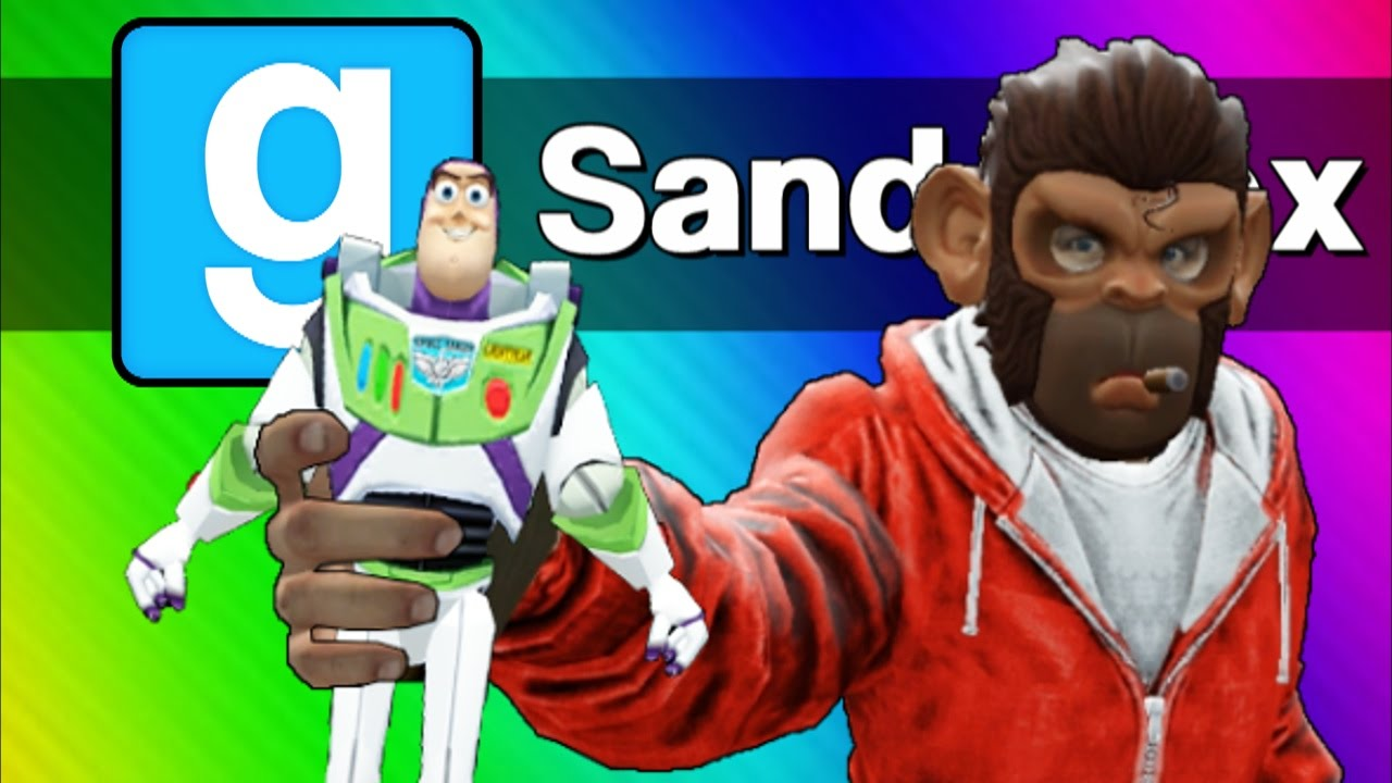 Gmod Sandbox - The Toys Escape! (Garry's Mod Skits & Funny Moments)