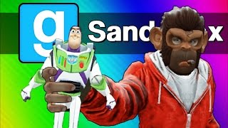 Gmod: Toy Story 4 - The Toys Escape! (Garry's Mod Sandbox Skits & Funny Moments)