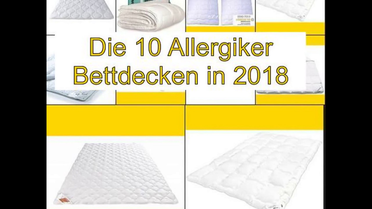 Bettdecken Set Allergiker Top 10 Die Besten Allergiker Bettdecken In 2018
