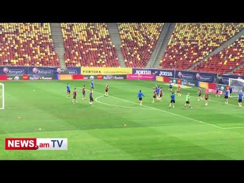 Armenia national team training and FAF