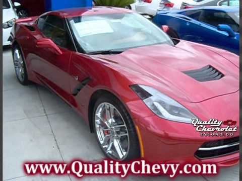 2015 Corvette Stingray W/Z51 Crystal Red Metallic