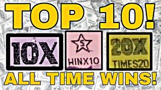 TOP 10 ALL TIME! Best wins on MY CHANNEL! Texas Lottery scratch off tickets