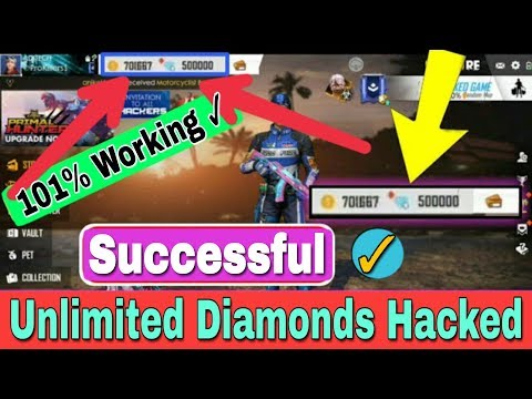 How To Hack Free Fire Unlimited Diamonds | 1000% Real Trick To Hack Free Fire Diamonds