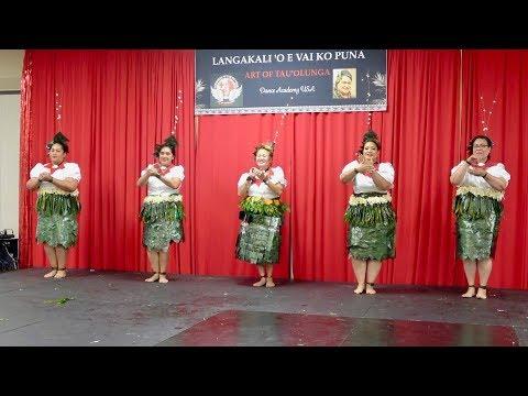 Fekau 11- Mothers Of Langakali 'oe Vai Ko Puna - Art Of Tau'olunga Showcase