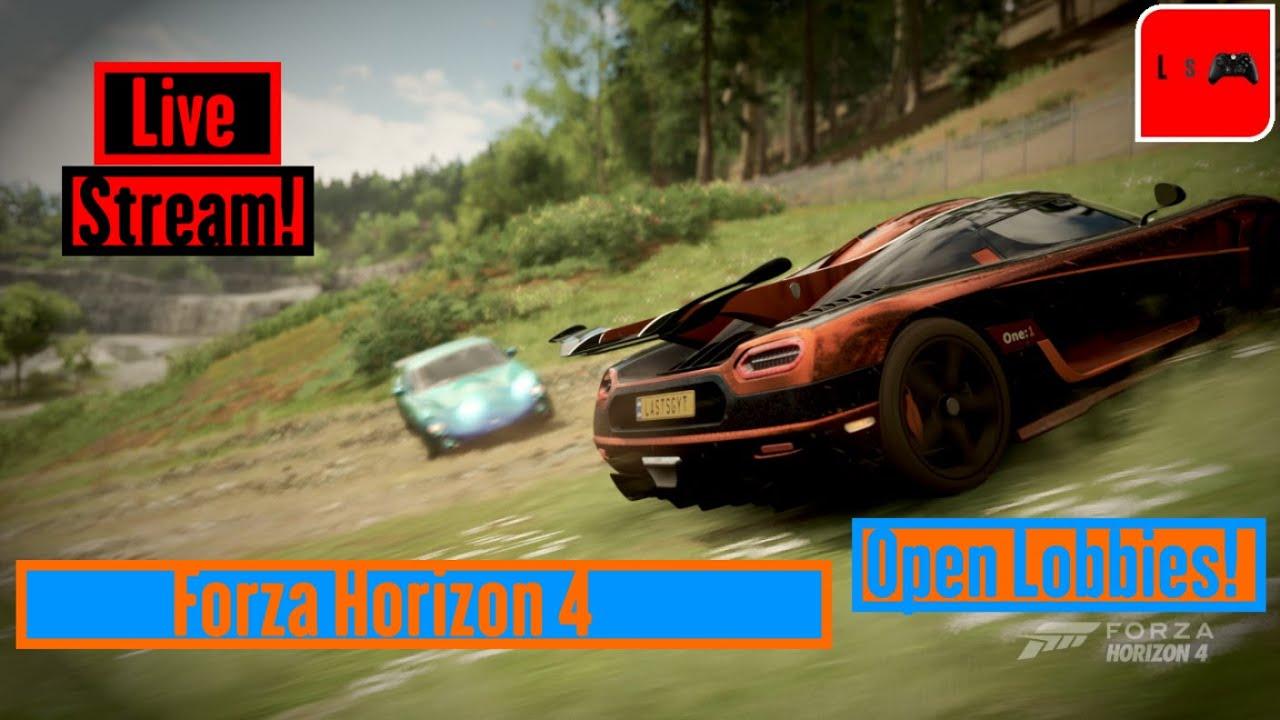 Forza Horizon 4! | Open Lobbies | Last stream of 2019! 🔴 thumbnail