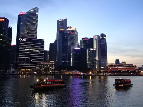 Marina Bay Night Cruise @ Singapore National Day 2016