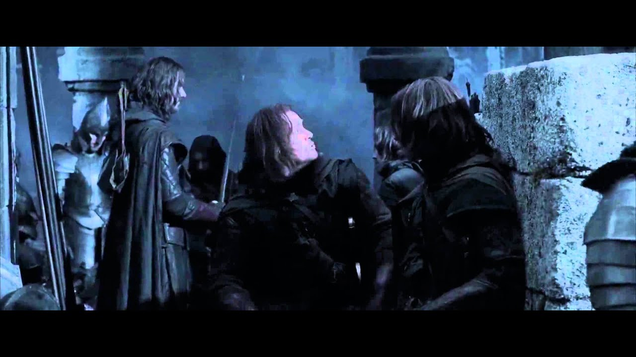Lotr The Return Of The King The Battle Of Osgiliath Youtube