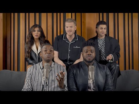 Jeremy W - Pentatonix Sings a Medley of Ariana Grande Songs