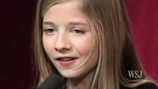 Jackie Evancho performs for The Wall Street Journal
