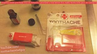 Get Rid Of A Toothache | Red Cross Pain Relief Review