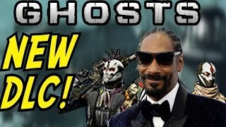 "Call of Duty: Ghost - ""SNOOP DOGG"" DLC. GHOST, SOAP & NEW DLC Camos!"