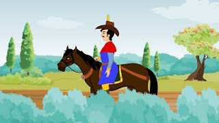 Yankee Doodle Song with Lyrics - Yankee Doodle Went To Town Nursery Rhymes & Kids Songs For Children