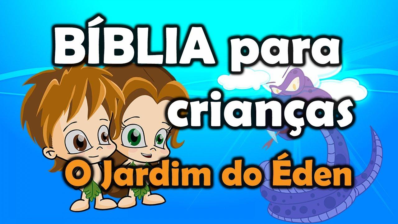 Animação da Biblia para Crianças  O Jardim do Éden  YouTube