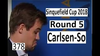 2018 Sinquefield Cup Round 5 ¦ A monster of a pawn!