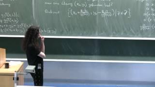 Lösungen linearer diophantischer Gleichungen