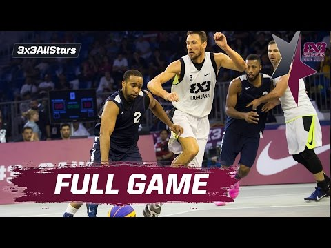 New York Harlem NBA vs Ljubljana - Semi Final Full Game - 2016 FIBA 3x3 All Stars