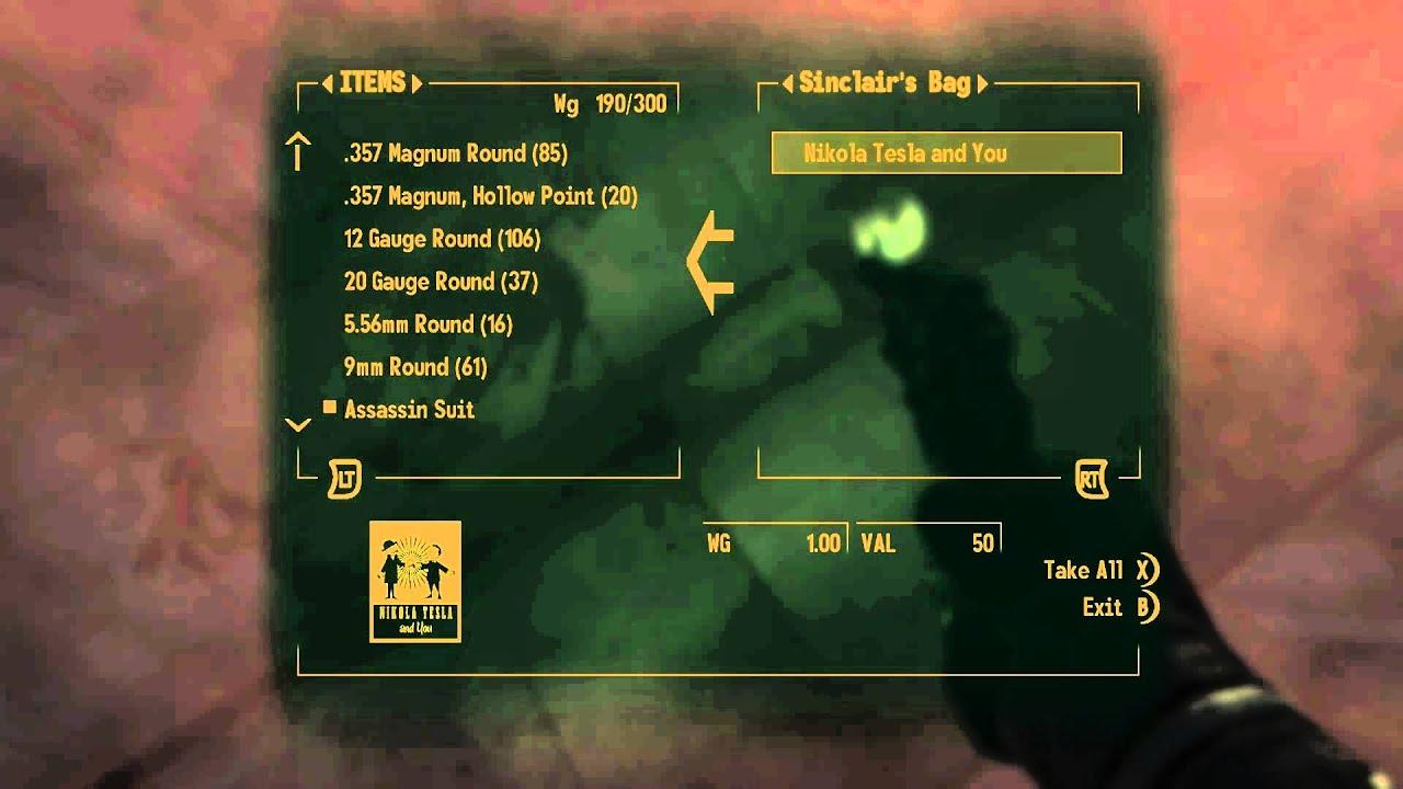 Fallout New Vegas Dead Money Skill Books 12 of 12 Nikola ...