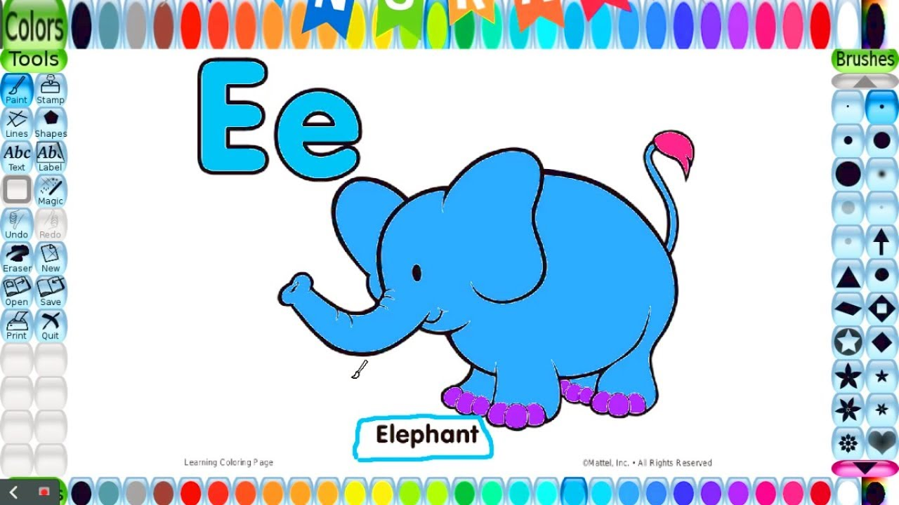 Coloring pages for kids with Free printables for Coloring Alphabet ...