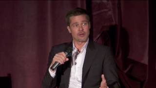 Allied: Brad Pitt & Marion Cotillard Question and Answer Session in LA
