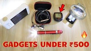 Unique Gadgets Under Rs500 | Part 34 | Tech Unboxing 🔥