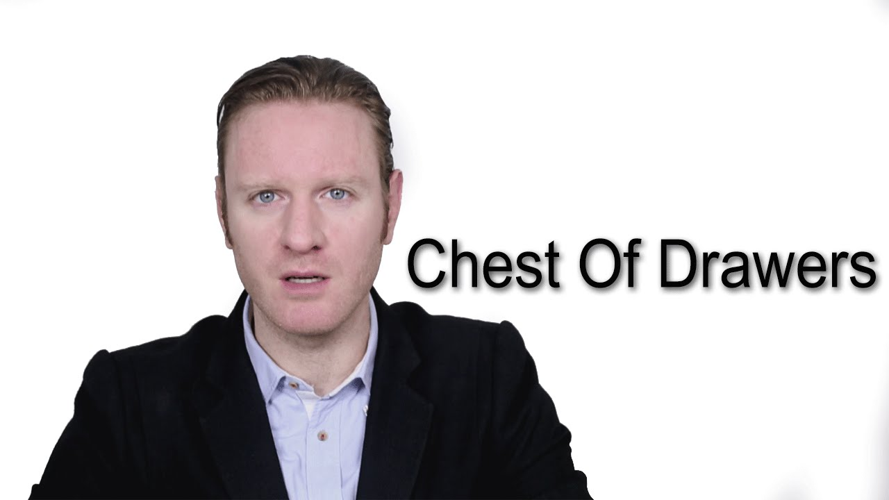 Chest Of Drawers Meaning Pronunciation Word World Audio Video Dictionary