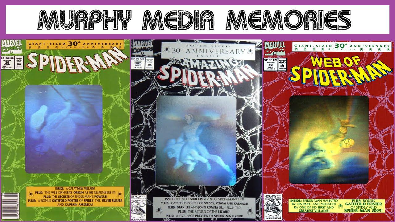 marvel comics 30th anniversary spider man