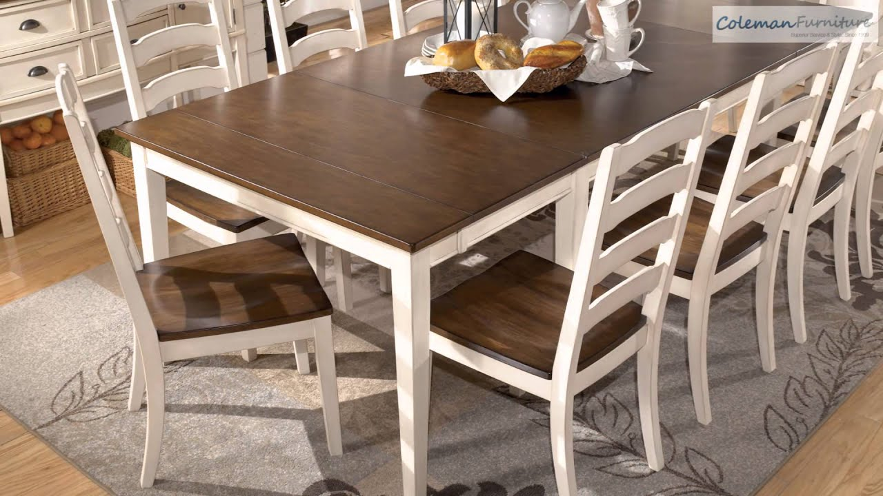 Whitesburg Dining Room Collection From Signature Design By Ashly   YouTube
