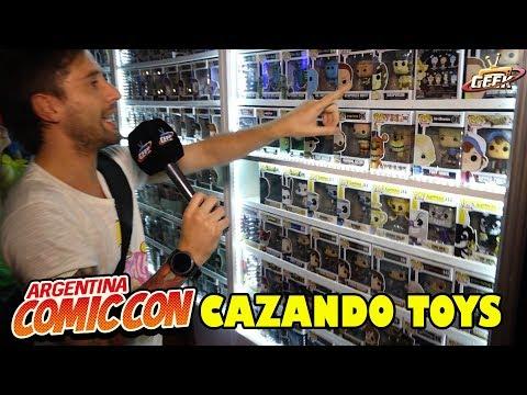 Cazando Toys en Comic Con Argentina 2018 Funko POP