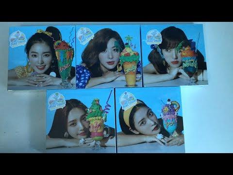 UNBOXING | Red Velvet (Summer Mini Album -- Limited Edition) Summer Magic 레드벨벳 써머매직 후기