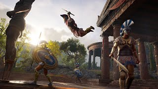 20 Minutes of Assassin's Creed Odyssey's RPG Gameplay - E3 2018
