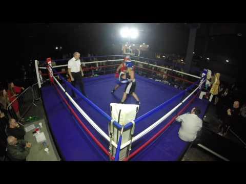 Ultra White Collar Boxing   Manchester   Nicola Willett VS Lacy Mellor