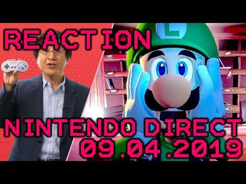Nintendo Direct September 2019 Reaction