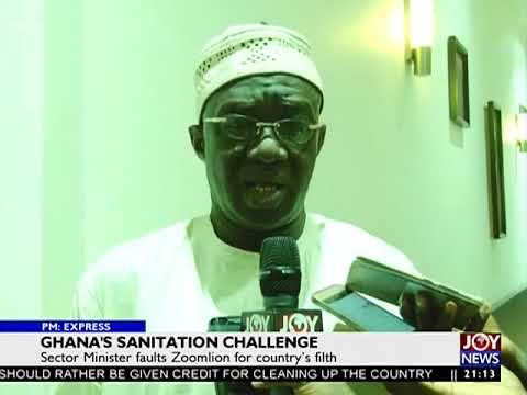 Ghana's Sanitation Challenge - PM Express on JoyNews (9-3-18