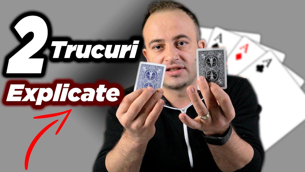Cum sa-ti inventezi propriul truc de magie + 2 trucuri explicate
