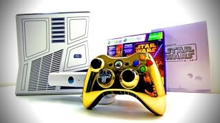 Limited Edition Xbox 360 Kinect Star Wars Bundle Unboxing