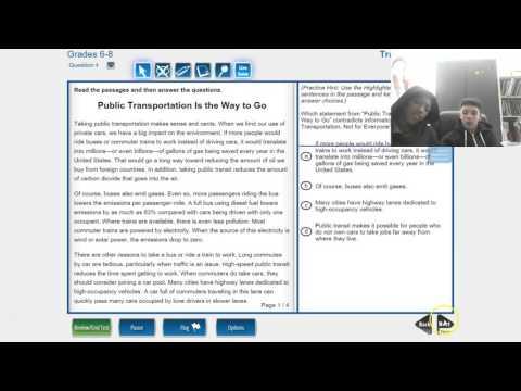 LEAP Online Testing Tools Tutorial