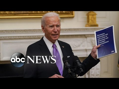 Biden unveils national COVID-19 strategy: masks, testing, accelerated vaccine rollout | WNT