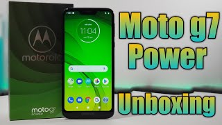 Moto g7 Power Unboxing, Hands-on + First impressions