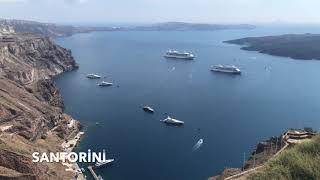 Yunan Adaları Gemi Turu / Mykonos, Santorini, Rodos, Atina