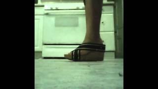 Wear my moms heels challenge