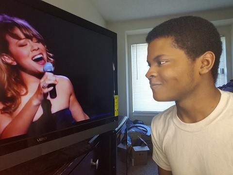 MARIAH CAREY - (Vision Of Love) Madison Square Garden (REACTION)