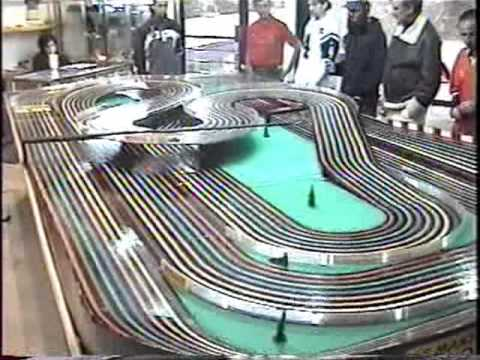 Slot Cars Video 10 Bsrt Wizzard Tyco Competition Unlimited In