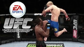 EA Sports UFC PS4 Gameplay Knockouts Submissions Highlights 1080p TRUE HD QUALITY
