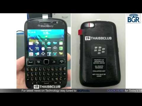 BlackBerry Bold 9720 running on BB7 spotted in leaked photos