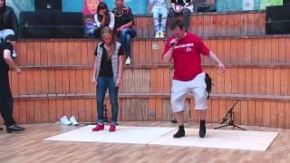 V1 Battle 2014. Мастер-класс по Степу (Step Dance Workshop)